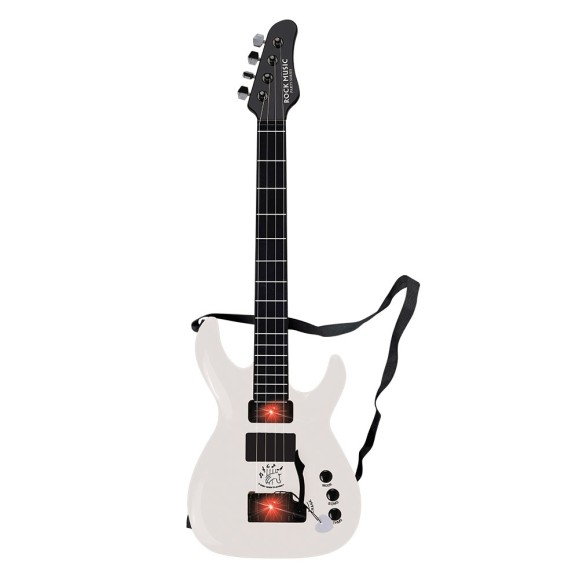 GUITARRA ROCK PARTY COM LUZ 64.5 CM 02 MODOS - COM INMETRO - DMT5383-BR