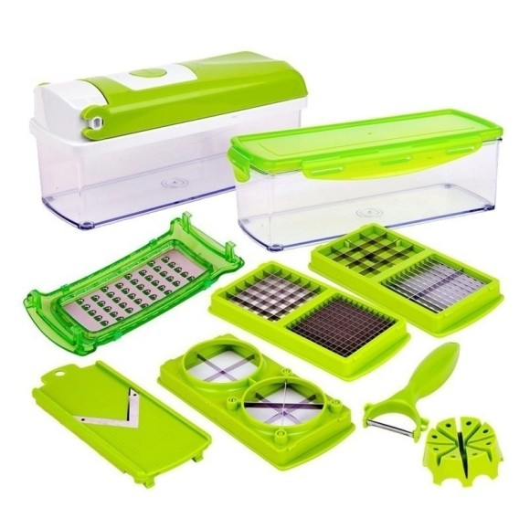 NICER DICER PLUS RALADOR FRUTAS MULTI-FATIADOR MANUAL SLICER - SD8301