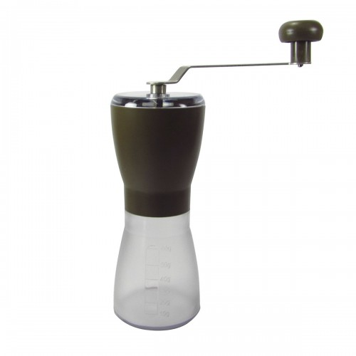MOEDOR DE CAFE MANUAL DE PLÁSTICO 18CM - 4183-MR