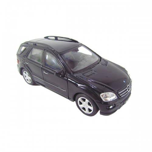 MINIATURA METAL MIX SUV MERCEDES-BENZ ML 350 PRETA 1:34-390 - DMC3355